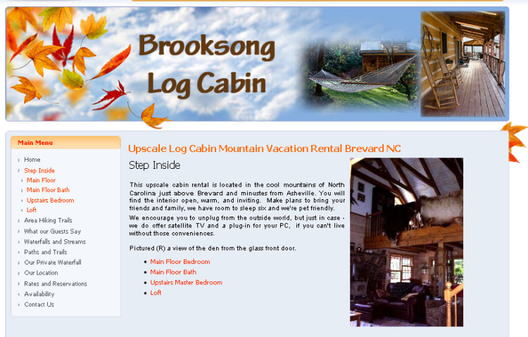 Brooksong Log Cabin